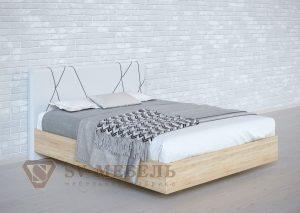 Кровать №1 сонома Абстракция