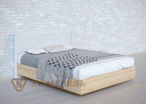Кровать №1 сонома Ромб