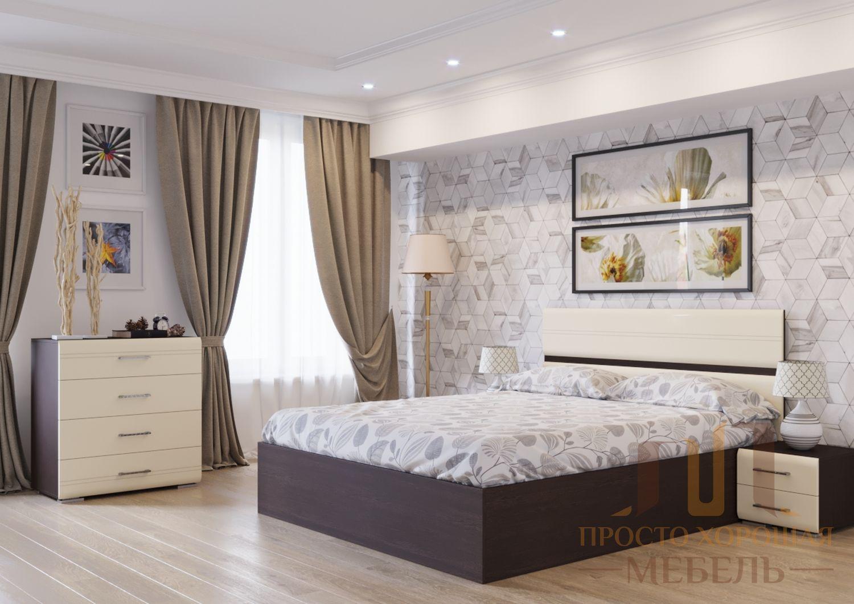 Кровать двойная МС №1